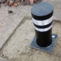 raise lower bollard